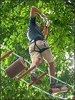 Treetop Adventure Park Cross_bridge_2